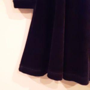 Boutique Europa by Newport News Dresses - Little Black Velvet Dress